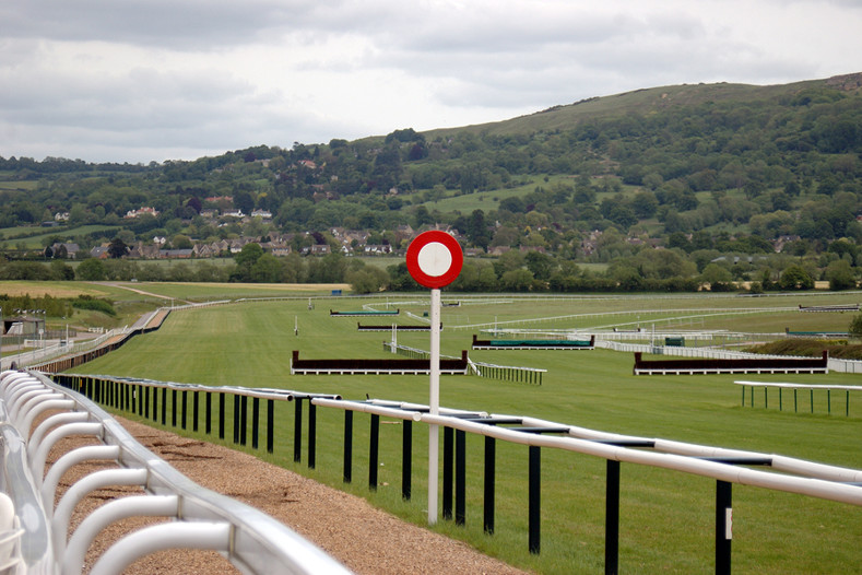 Finishing Post at Cheltenham Racecourse