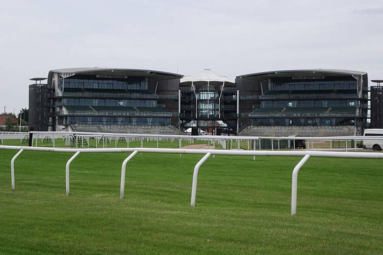 Aintree Racecourse Empty