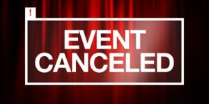 Event Cancelled Notice