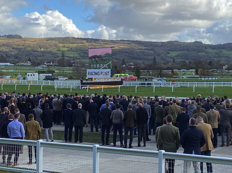 Crowds at the 2020 Cheltenham Festival