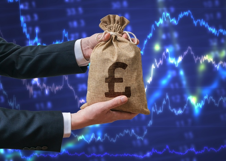 GBP being handed over