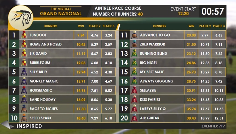 The Virtual Grand National