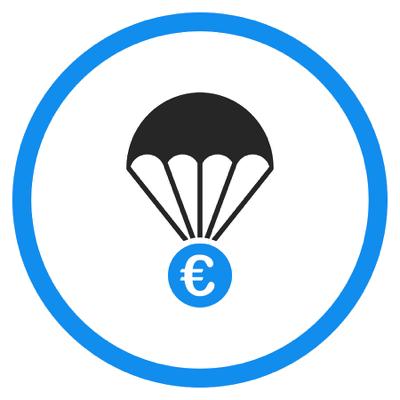 Parachute payment concept