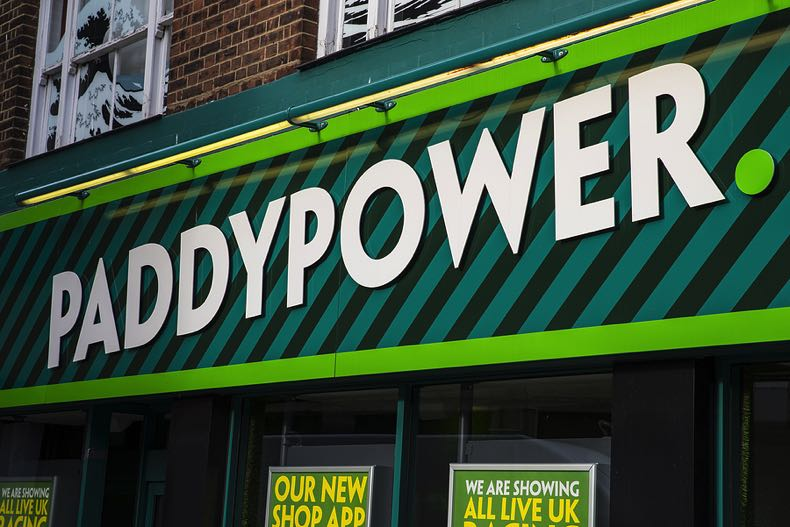 PaddyPower shop front