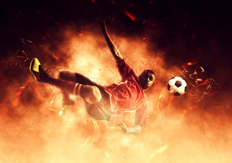 Phoenix football team concept