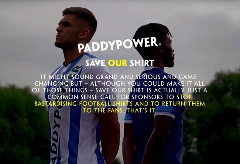 Save Our Shirt Campaign
