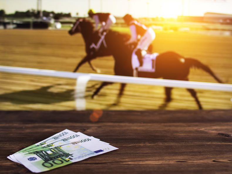 Horse race and money