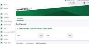 Paddypower Brexit Specials