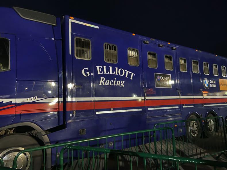 Gordon Elliot Racing Van at the Cheltenham Festival