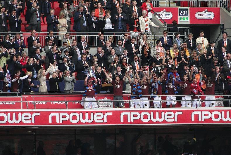 West Ham United FC's npower sponsorship in 2012
