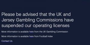 Football Index front page notice