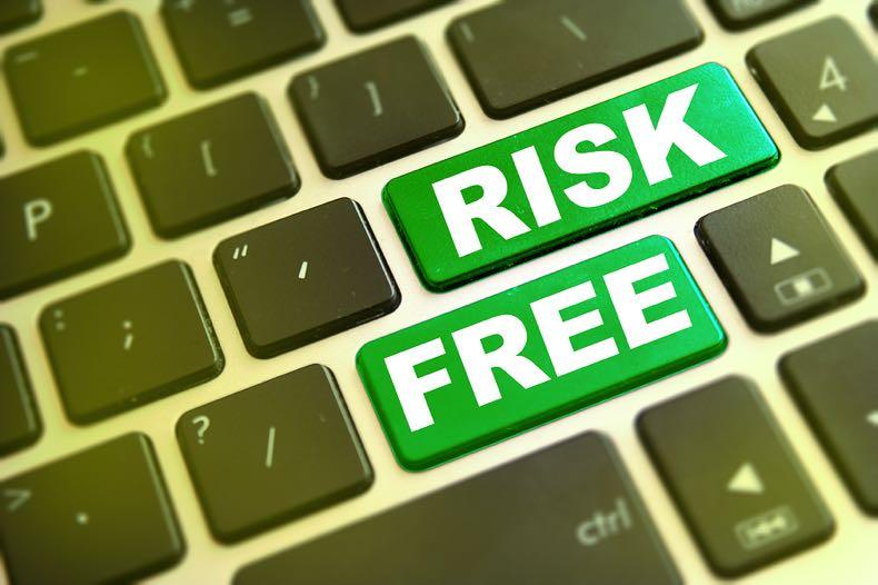 Risk free keyboard