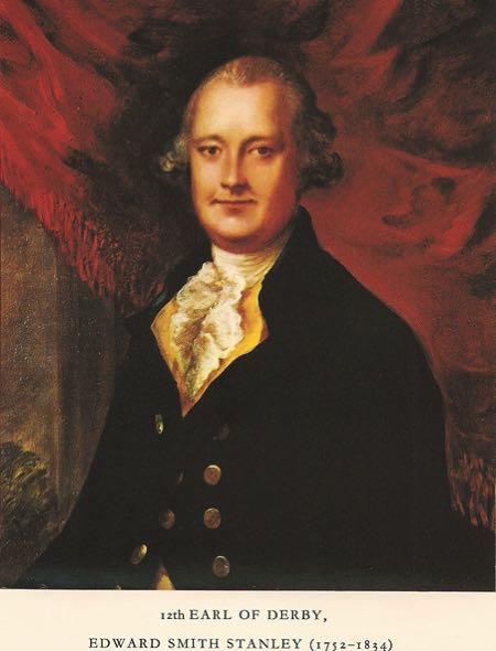 Edward, 12th Earl of Derby