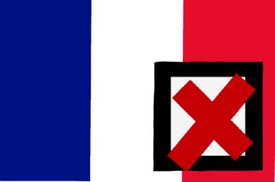France favourite loses
