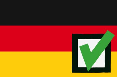 Germany favourites win