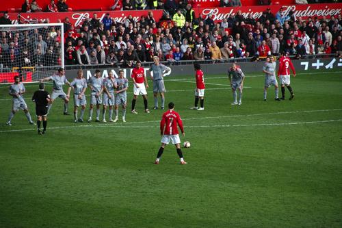 Ronaldo in Man City vs Liverpool