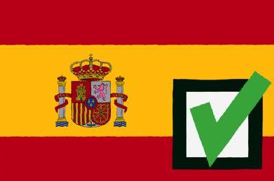Spain favourite wins