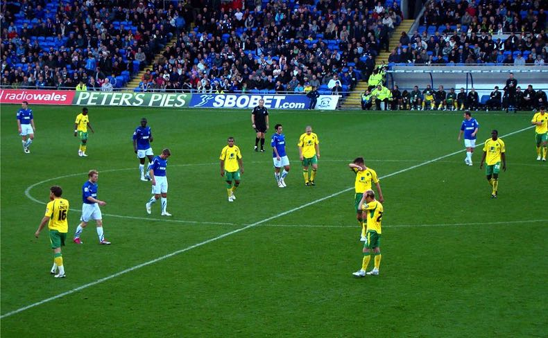 Norwich City looking defeated