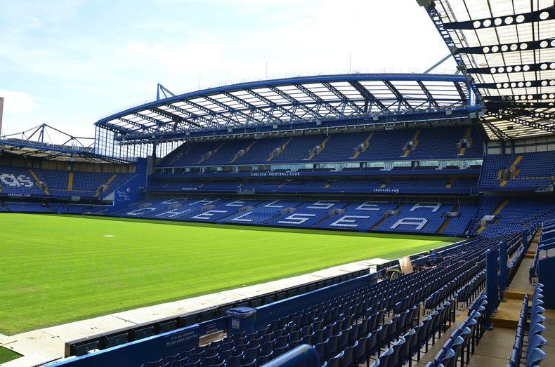 Stamford Bridge in Chelsea